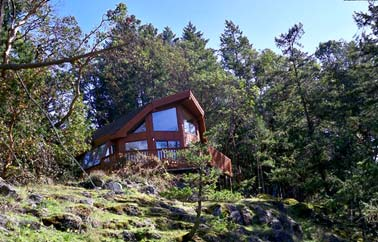 Cottage Salt Spring island accommodation - Saltspring Island